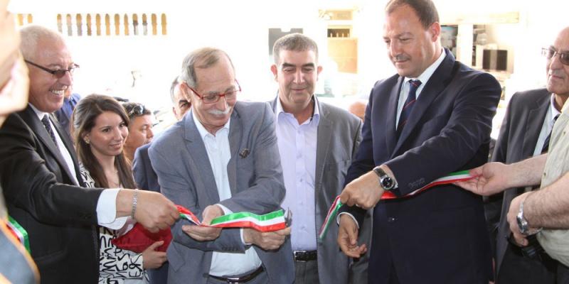 Inauguration du siège de SCPA AXXAM par M le wali Mohamed HATTAB