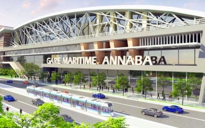 La gare maritime de Annaba ALGERIE