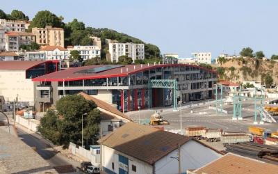 La gare maritime de Béjaia ALGERIE